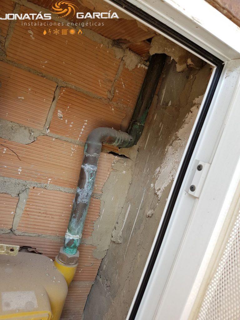 Instalaci n de gas natural restaurante el cobertizo en el for Gas natural malaga